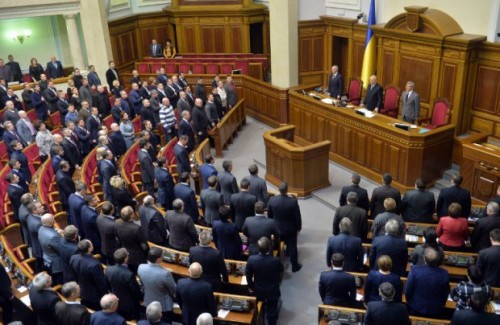 Ukraine : ratification des accords d'association avec l'UE