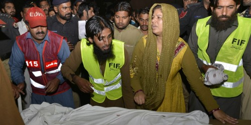 PAKISTAN-UNREST-BLAST-INDIA